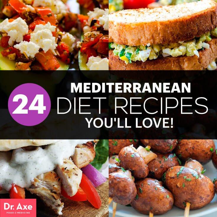 Healthy Mediterranean Diet Recipes  24 Mediterranean Diet Recipes Dr Axe