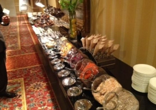 Healthy Meeting Snacks  Hotel based meetings more creative healthier menus