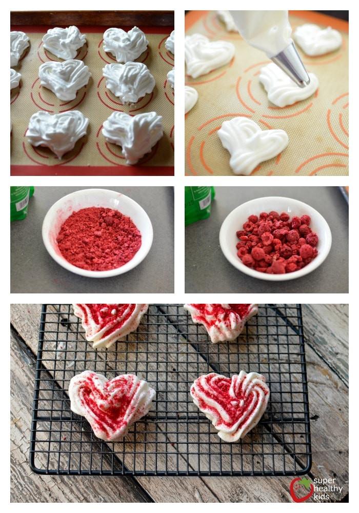 Healthy Meringue Cookies  Coconut Raspberry Meringue Cookies