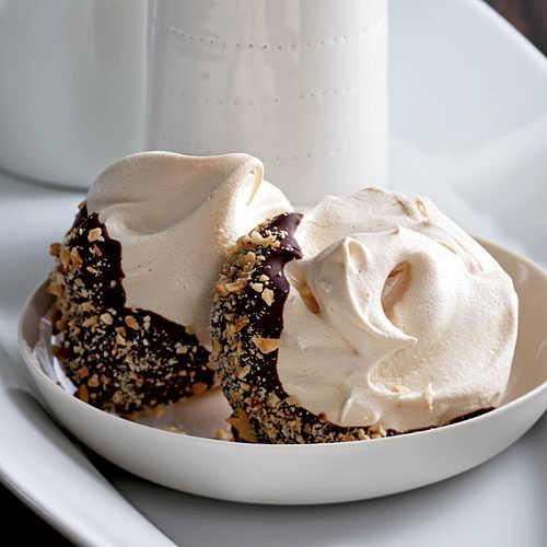 Healthy Meringue Cookies  Chocolate Hazelnut Meringues 120 Healthy Cookies