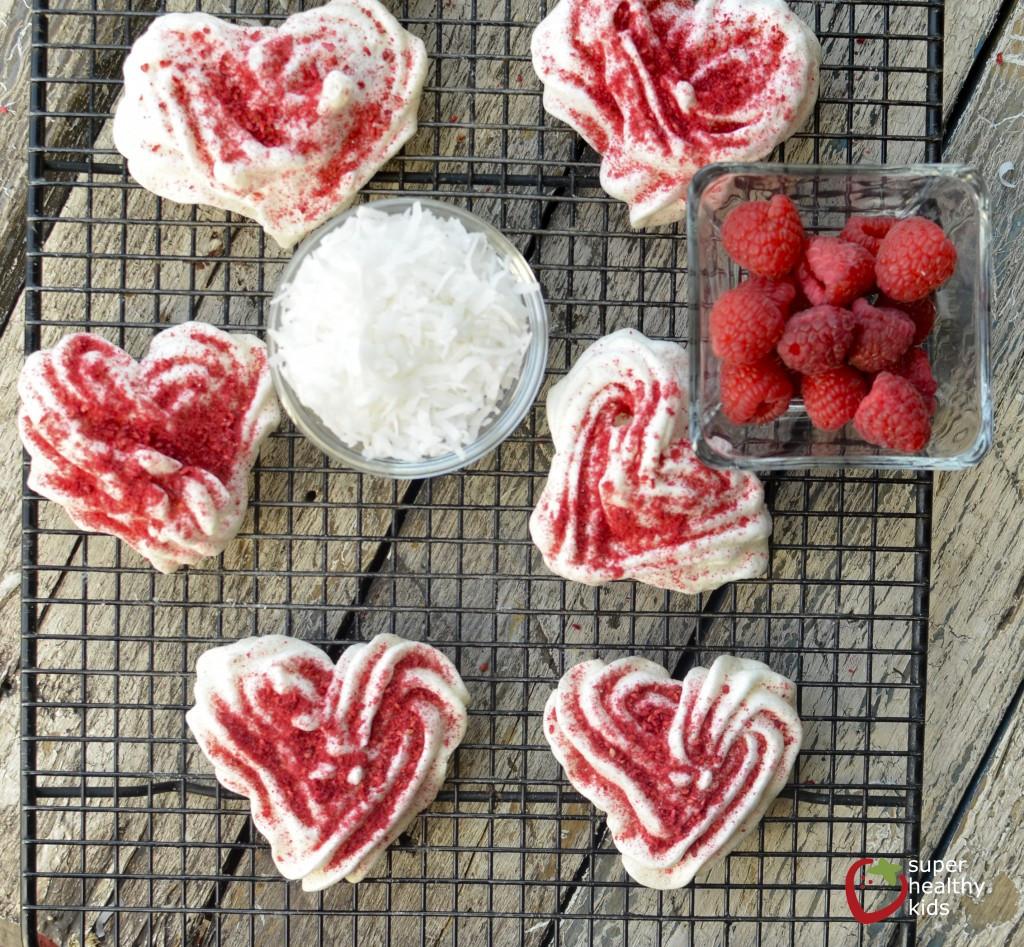 Healthy Meringue Cookies  Coconut Raspberry Meringue Cookie Recipe