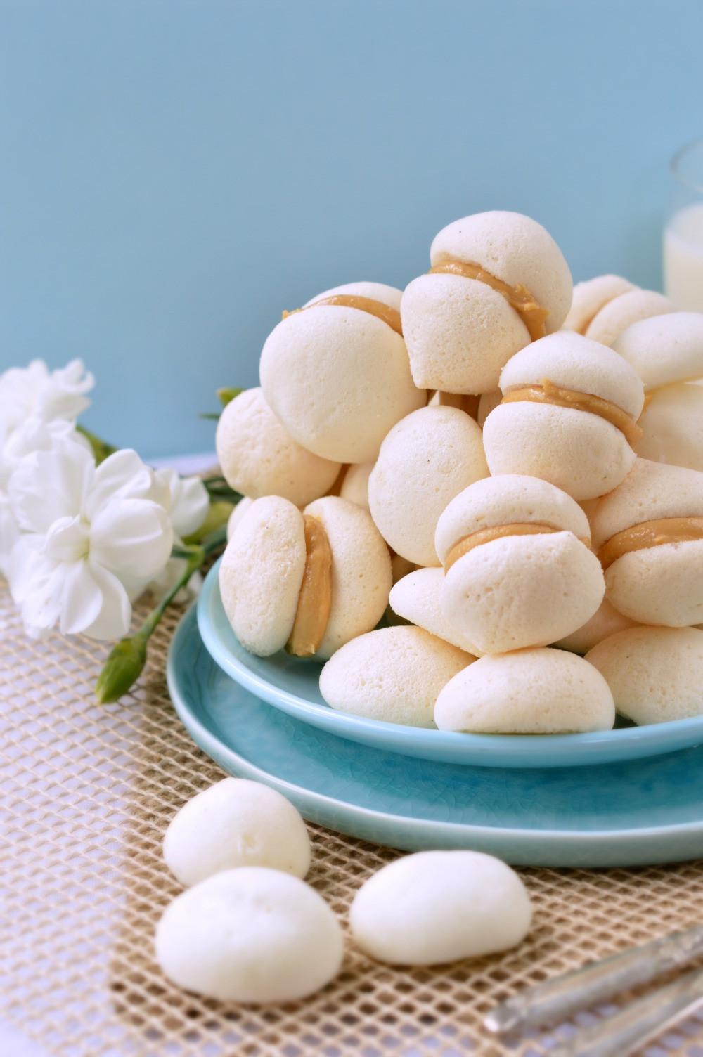 Healthy Meringue Cookies  Meringue Cookies with Peanut Butter Vegan SWEETASHONEY