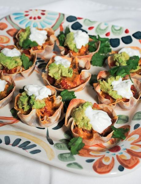 Healthy Mexican Appetizers  A Healthy Appetizer – Mexican Bean and Salsa Wonton Cups