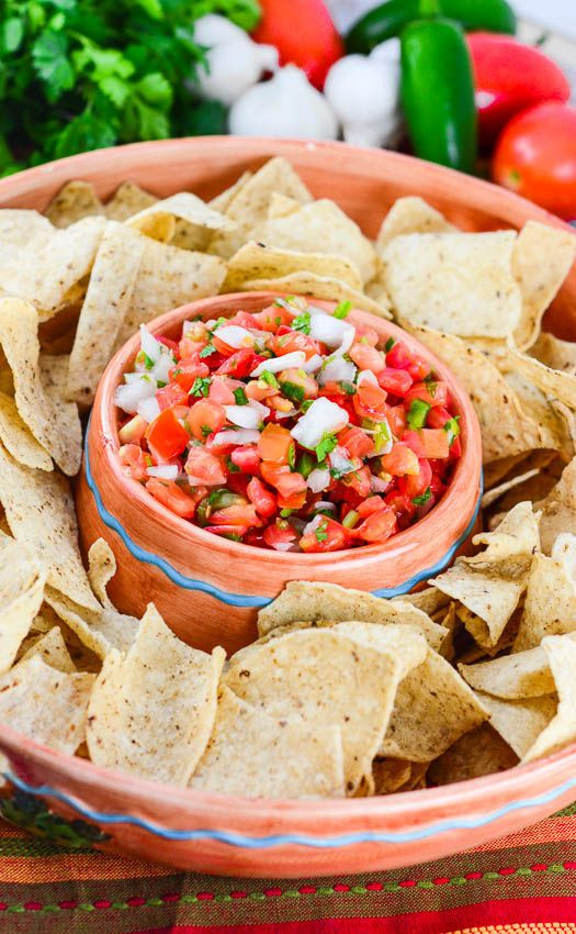 Healthy Mexican Appetizers  Pico de Gallo Salsa from Flavor Mosaic is a delicious