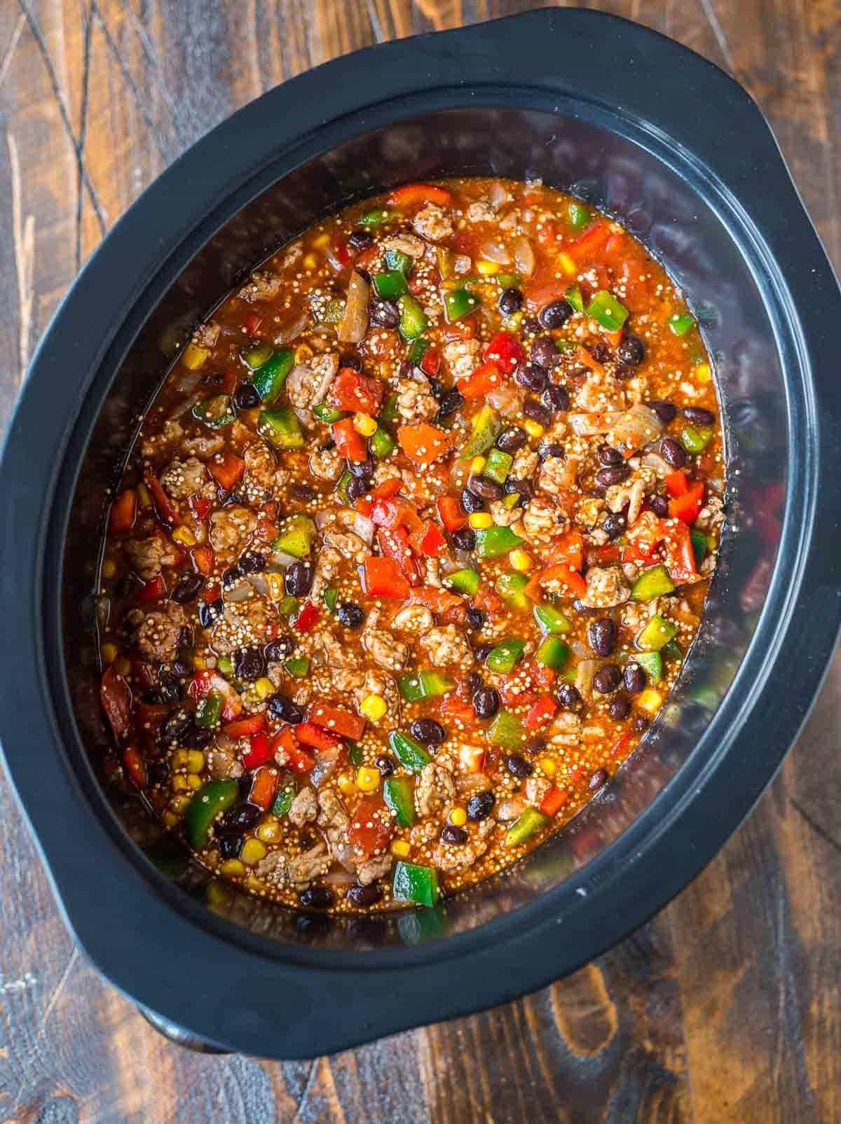 Healthy Mexican Crock Pot Recipes  Crock Pot Mexican Casserole