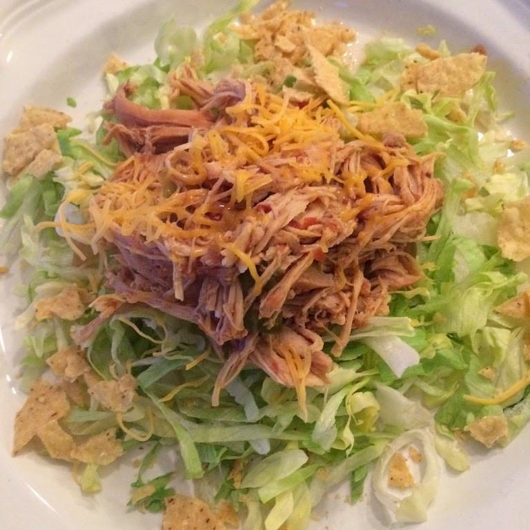 Healthy Mexican Crock Pot Recipes  Maryland Pink and Green Easy Mexican Chicken Crock Pot Recipe