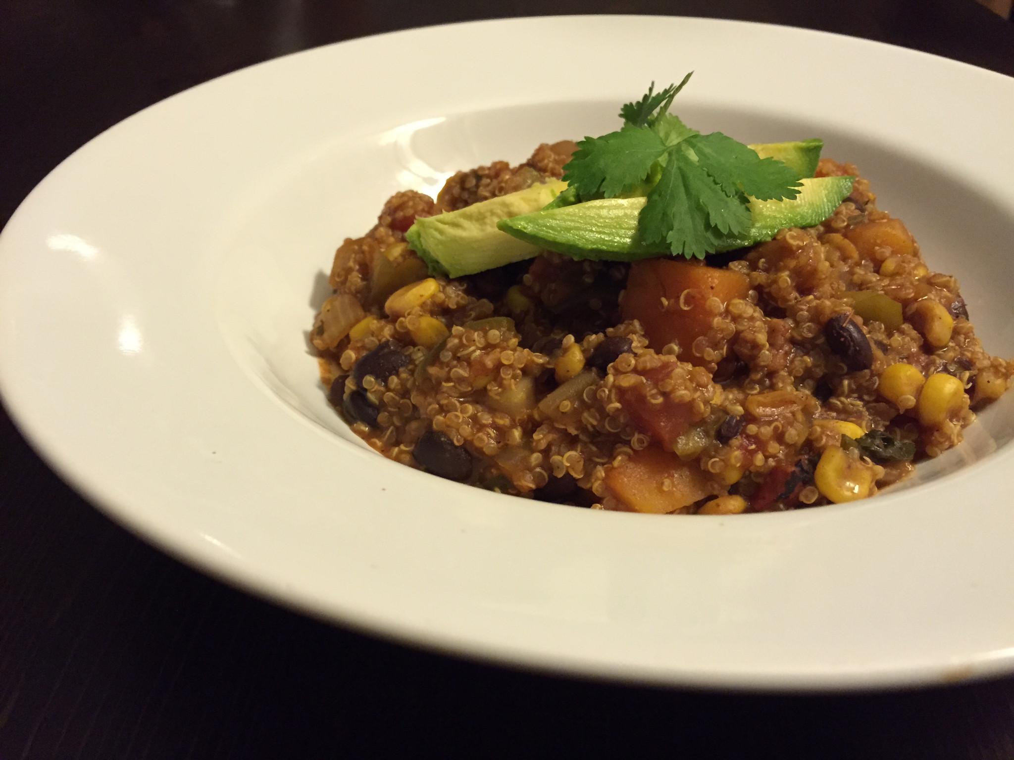 Healthy Mexican Crock Pot Recipes  Vegan Crock Pot Mexican Quinoa Recipe