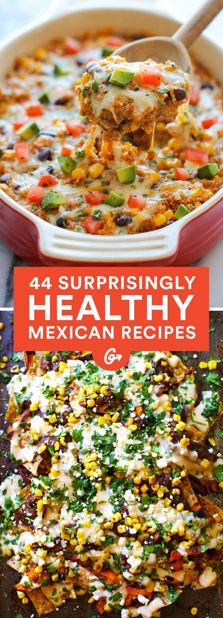 Healthy Mexican Food Recipes  Best 25 Healthy mexican recipes ideas on Pinterest
