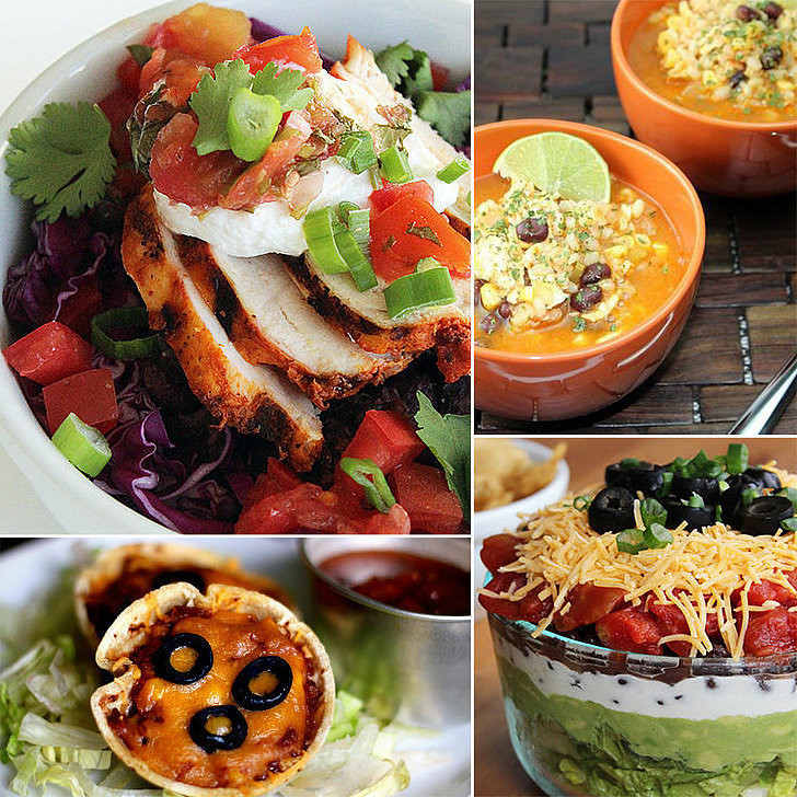 Healthy Mexican Food Recipes  Healthy Mexican Recipes For Cinco de Mayo