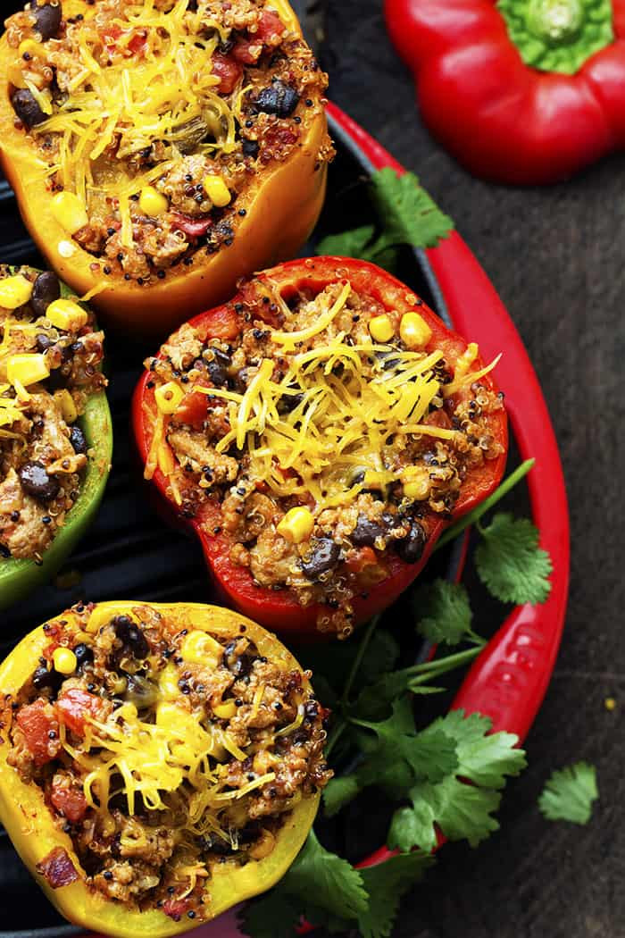 Healthy Mexican Recipes  healthy mexican stuffed peppers