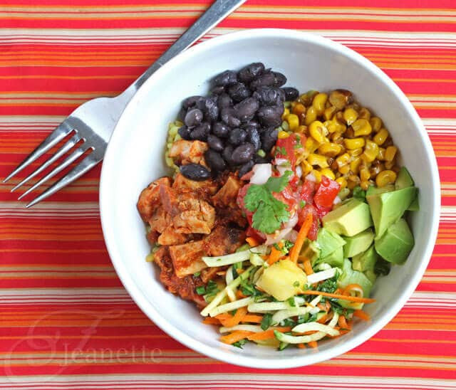 Healthy Mexican Rice Bowl Recipes  Cha Cha Bowl Recipe for Mexican Chicken and Black Bean