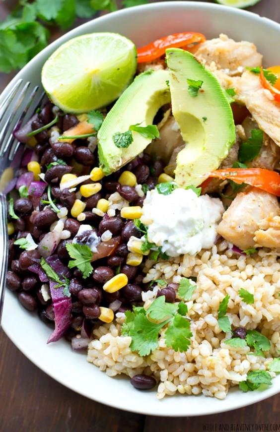 Healthy Mexican Rice Bowl Recipes  Grain Bowl Recipes Healthy Dinner Ideas