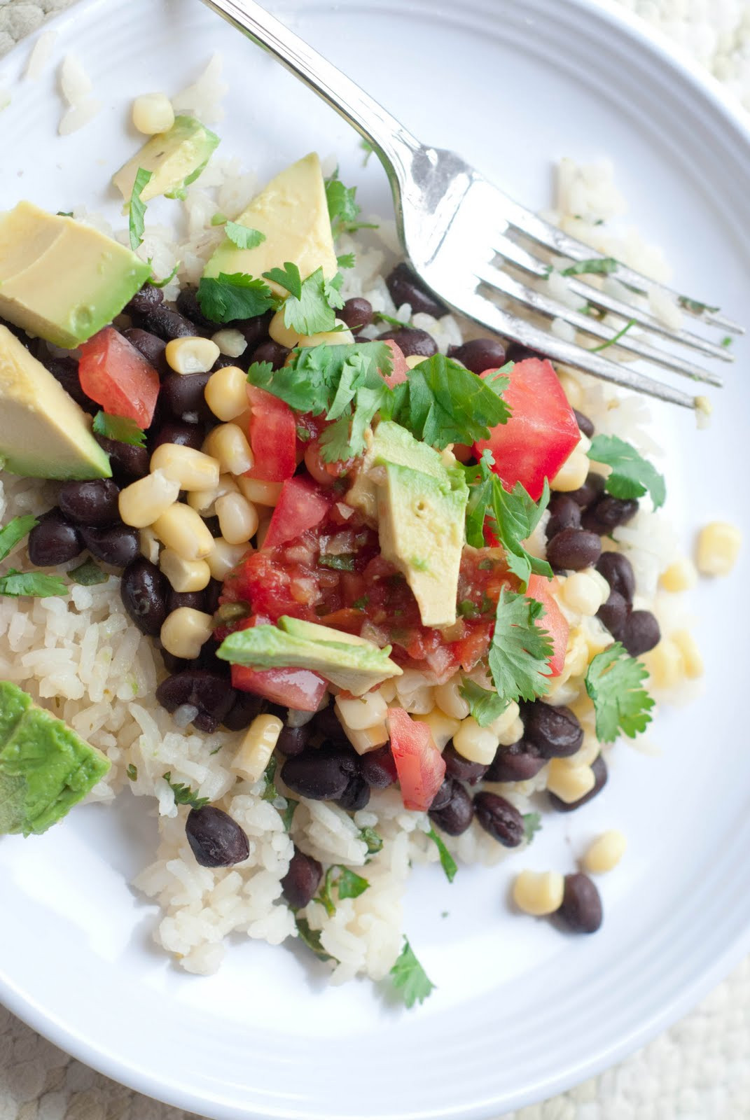Healthy Mexican Rice Bowl Recipes  See Jane in the kitchen Mexican Rice Bowls