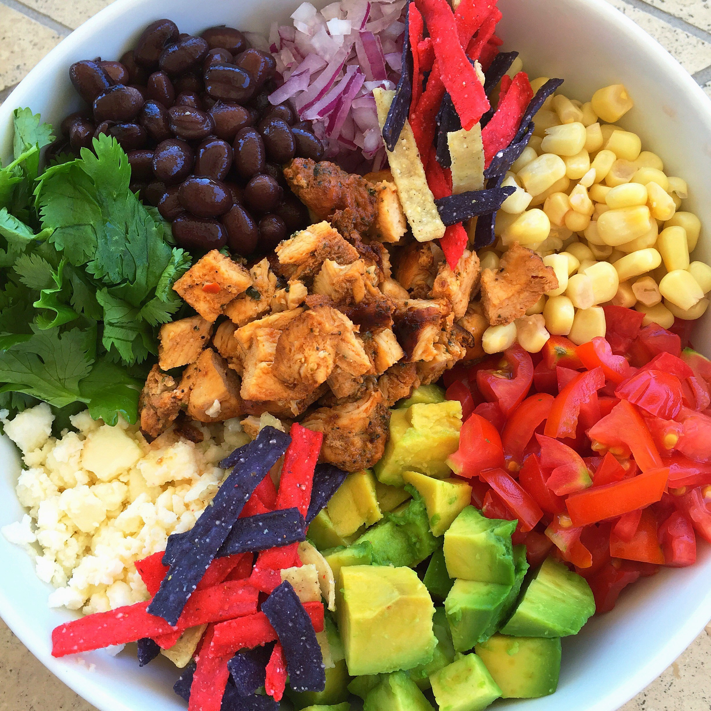 Healthy Mexican Rice Bowl Recipes  Healthy Mexican Chicken and Brown Rice Salad Bowl