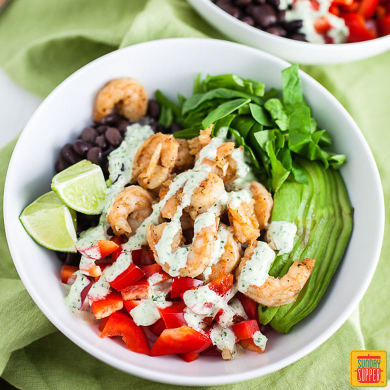 Healthy Mexican Rice Bowl Recipes  Mexican Rice Bowl with Shrimp Sunday Supper Movement