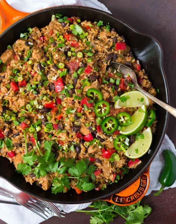 Healthy Mexican Rice Recipe  Mexican Chicken and Rice