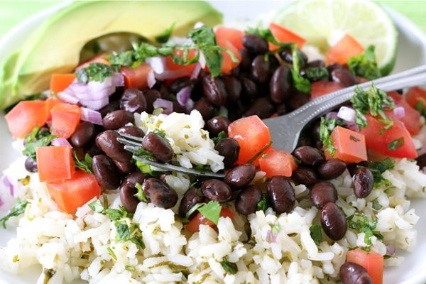 Healthy Mexican Rice Recipe  Mexican Rice Bowl