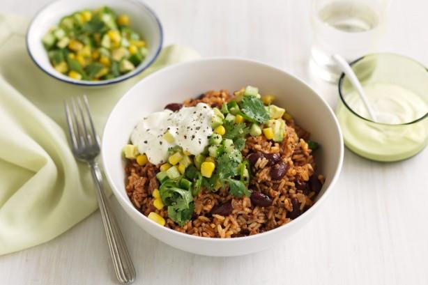 Healthy Mexican Rice Recipe  Healthy Mexican Rice & Beef Bowls Recipe Taste
