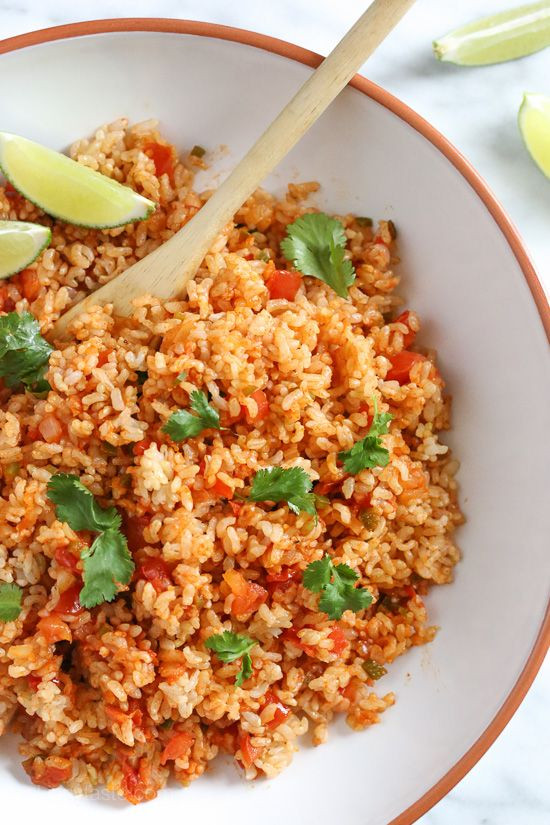 Healthy Mexican Rice Recipe  Best 25 Mexican brown rice ideas on Pinterest