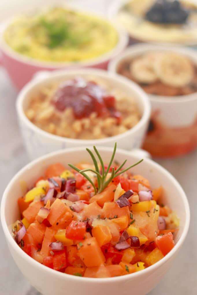 Healthy Microwave Breakfast  Top 5 Microwave Mug Breakfasts Sweet & Savory Recipes