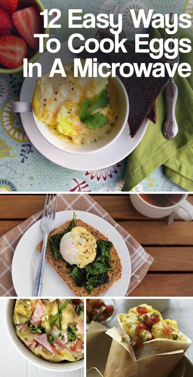 Healthy Microwave Breakfast  Best 25 Microwave eggs ideas on Pinterest