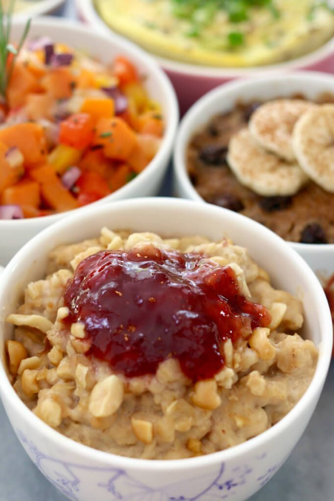 Healthy Microwave Breakfast  Blueberry Pancake in a Mug Back to School Microwave