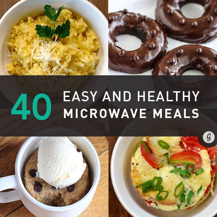 Healthy Microwave Dinners  25 best ideas about Healthy Microwave Meals on Pinterest