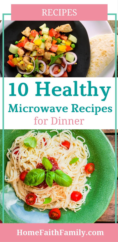 Healthy Microwave Dinners  10 Healthy Microwave Recipes for Dinner Home Faith Family