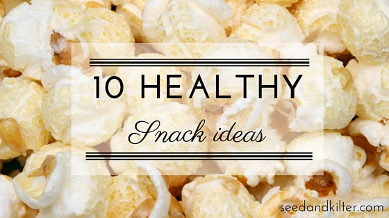 Healthy Mid Morning Snacks  10 Healthy Snack Ideas – seed&kilter