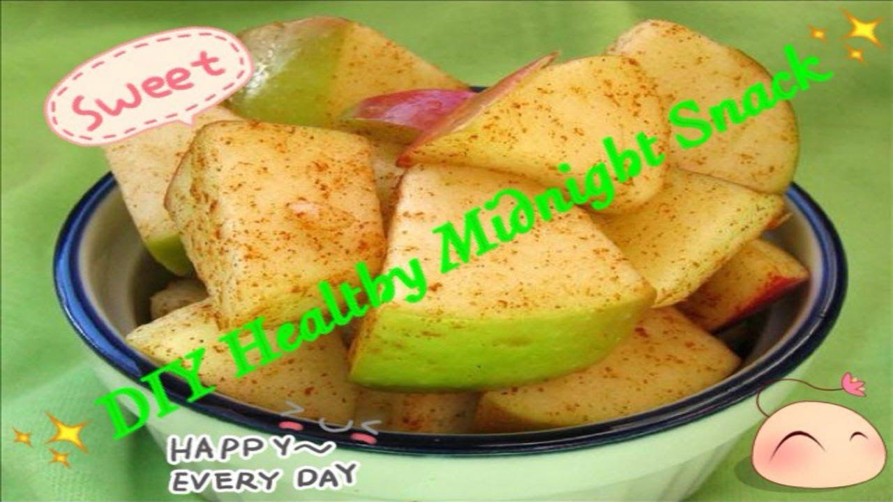 Healthy Midnight Snacks  DIY healthy Midnight Snack No cook