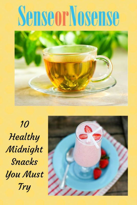 Healthy Midnight Snacks  10 Healthy Midnight Snacks for You