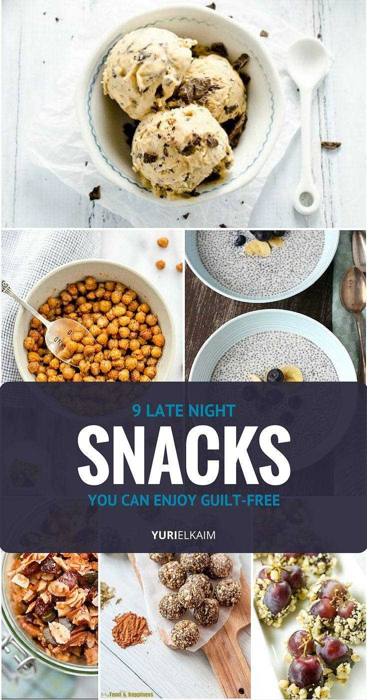 Healthy Midnight Snacks  9 Healthy Midnight Snacks You Can Enjoy Guilt Free