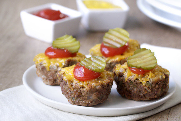 Healthy Mini Meatloaf  Healthy Recipes Under 250 Calories Zucchini Noodle