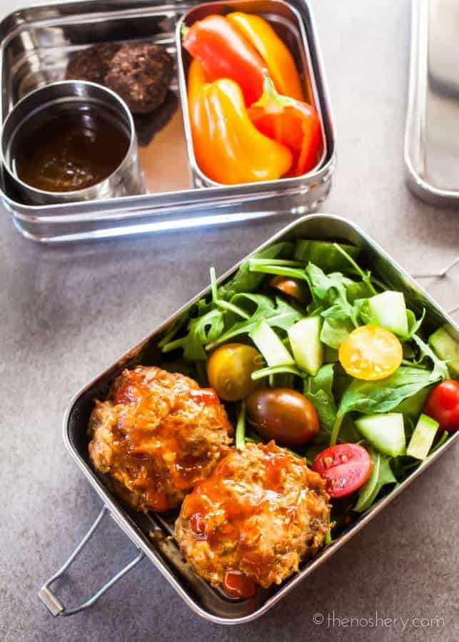 Healthy Mini Meatloaf  Healthy Lunch Mini Meatloaf Muffins
