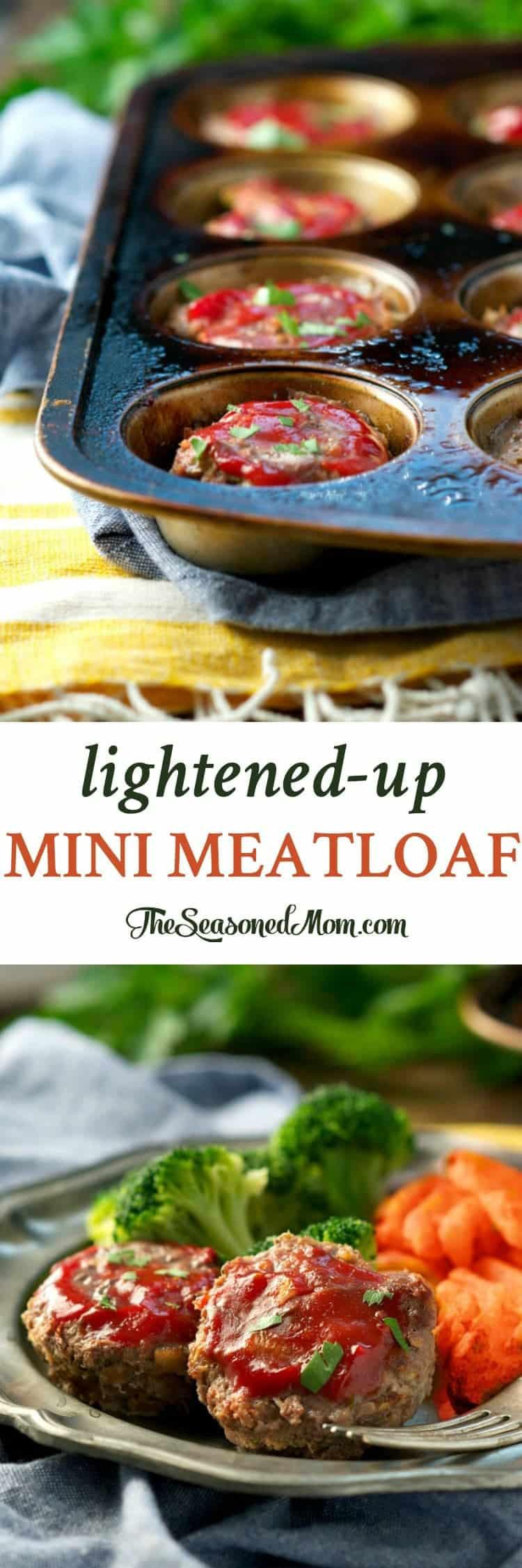 Healthy Mini Meatloaf  healthy mini meatloaf