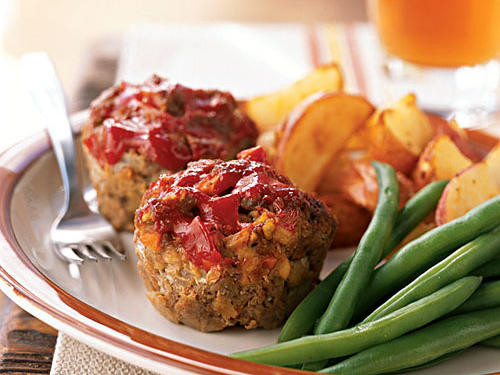 Healthy Mini Meatloaf  Our Best Meat Loaf Recipes Cooking Light
