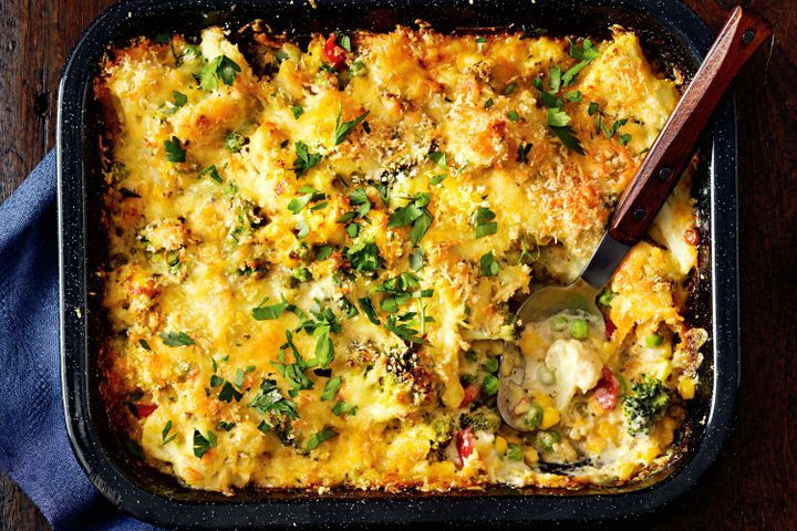 Healthy Mixed Vegetable Casserole  healthy mixed ve able casserole