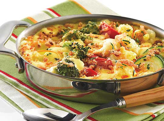 Healthy Mixed Vegetable Casserole  Ve able Casserole Gluten Free Recipes