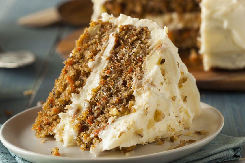 Healthy Moist Carrot Cake Recipe  Healthy Homemade Carrot Cake Bakerette