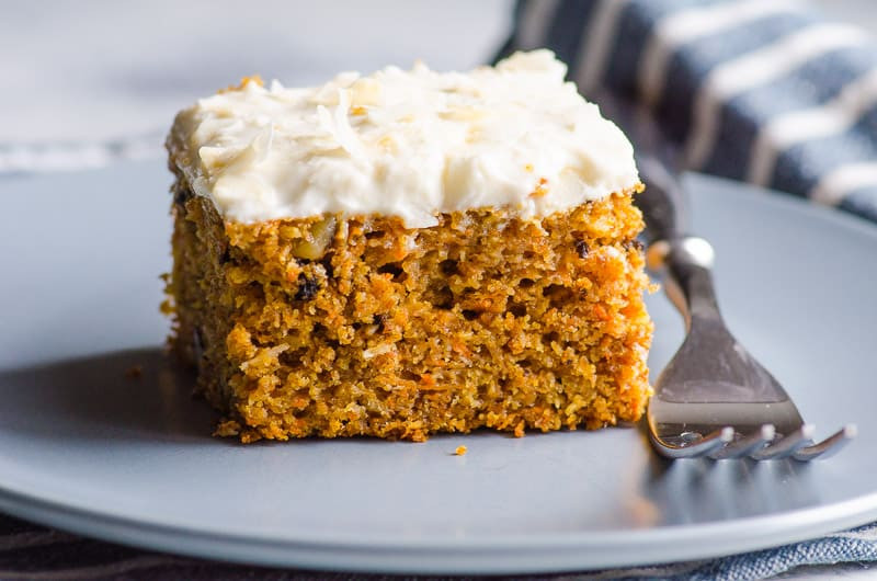 Healthy Moist Carrot Cake Recipe  Healthy Carrot Cake iFOODreal Healthy Family Recipes