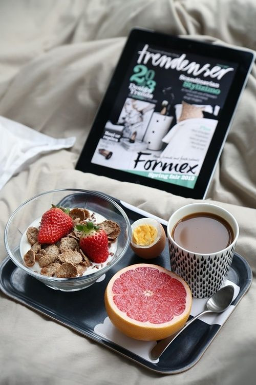 Healthy Morning Breakfast  Good morning fashionistas breakfast coffee