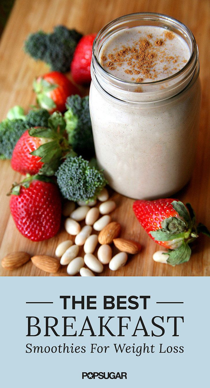Healthy Morning Smoothies For Weight Loss  Lose Weight Faster With e of These 12 Breakfast