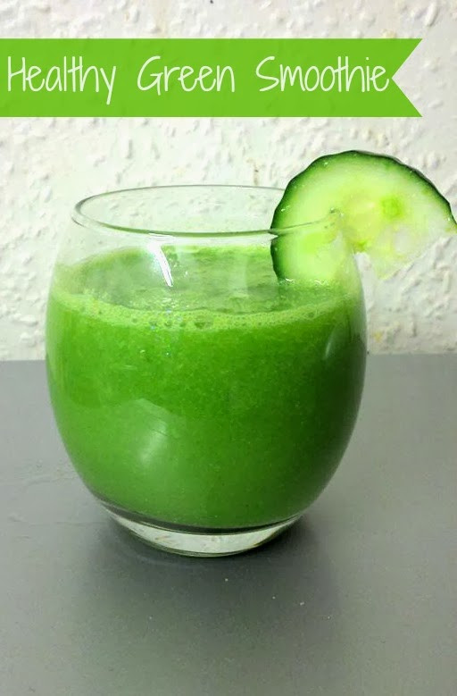Healthy Morning Smoothies For Weight Loss  Healthy Green Smoothie Recipe Cucumber & Lime Crafty
