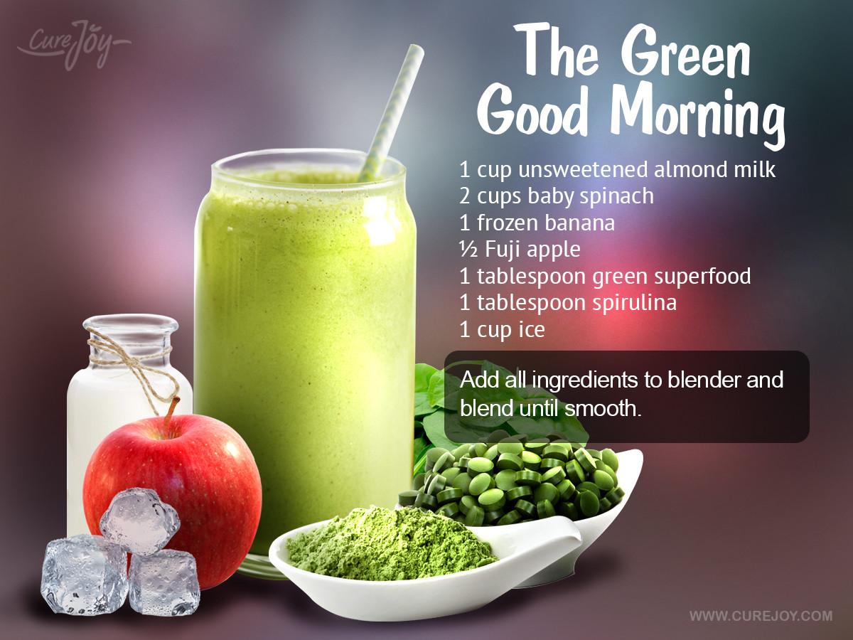Healthy Morning Smoothies For Weight Loss  Energy Smoothie Recipe — Dishmaps