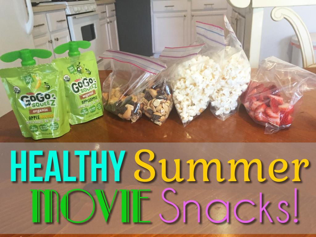 Healthy Movie Snacks  Healthy Summer Movie Snacks A Happier Home
