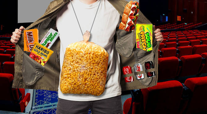 Healthy Movie Snacks To Sneak In  17 Moviegoers Who Are Pros At Sneaking Food Into The Theater