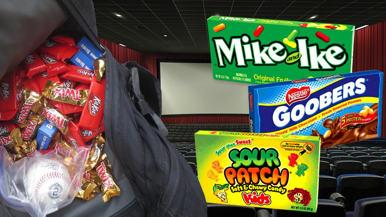 Healthy Movie Snacks To Sneak In  SNEAKING SNACKS INTO MOVIE THEATER