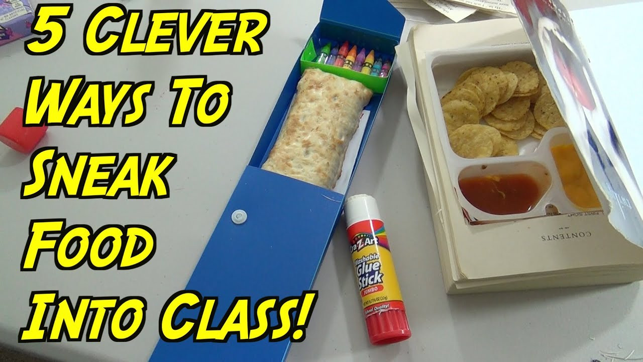 Healthy Movie Snacks To Sneak In  5 School Hacks You Can Do When You re Hungry How To