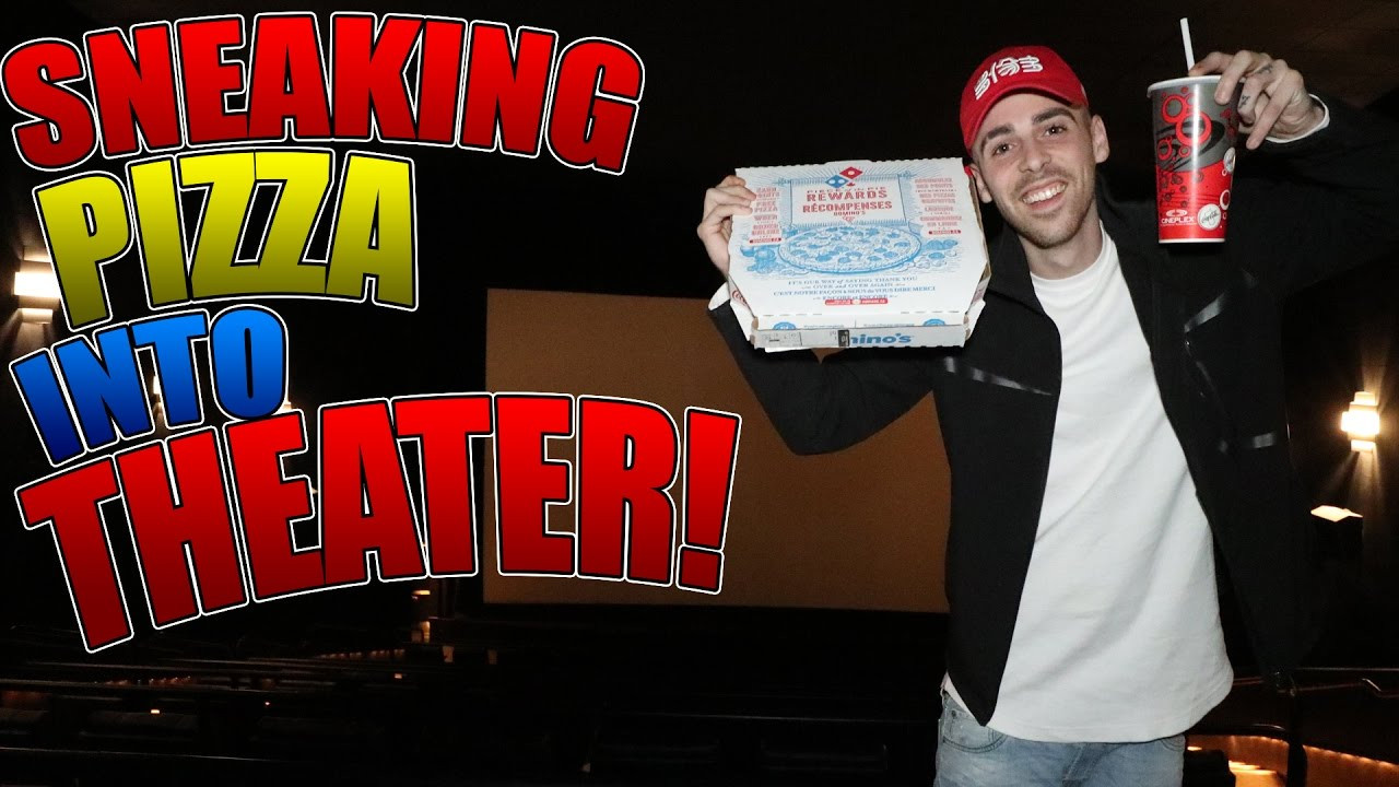 Healthy Movie Snacks To Sneak In  SNEAKING FOOD INTO THEATER HOW TO SNEAK PIZZA INTO THE