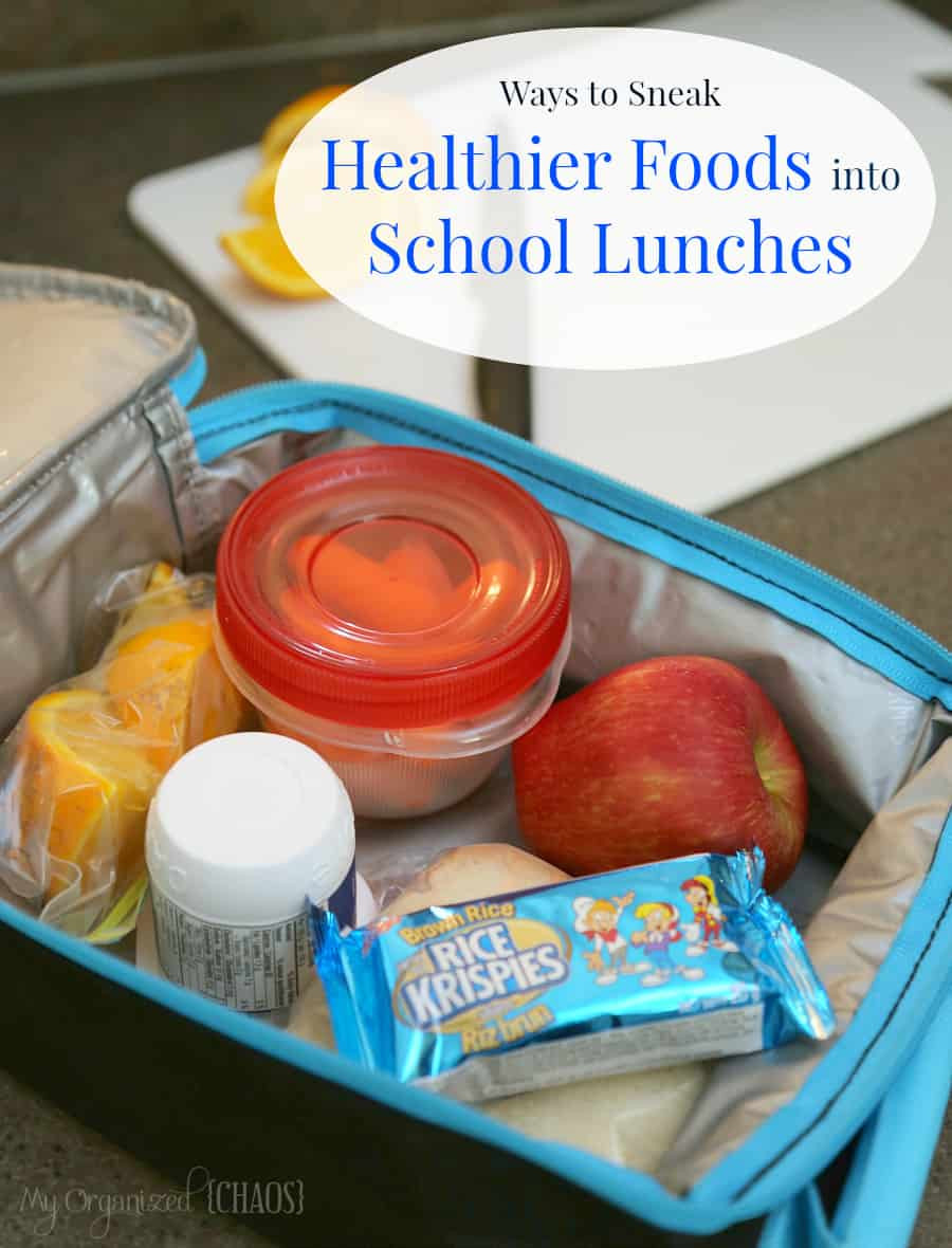 Healthy Movie Snacks To Sneak In  Ways to Sneak Healthier Foods into School Lunches